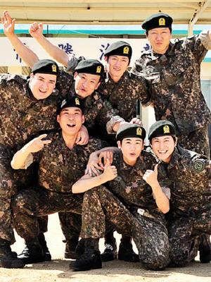Real army men